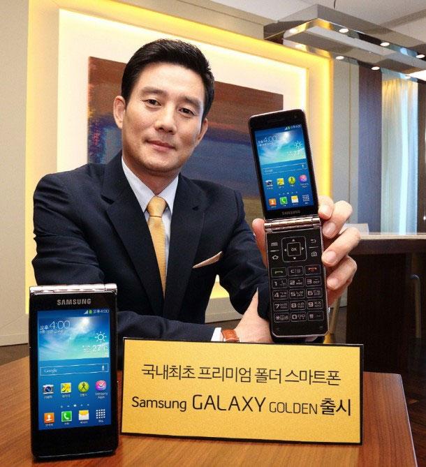 سامسونگ و معرفي اسمارت فون تاشو Galaxy Golden