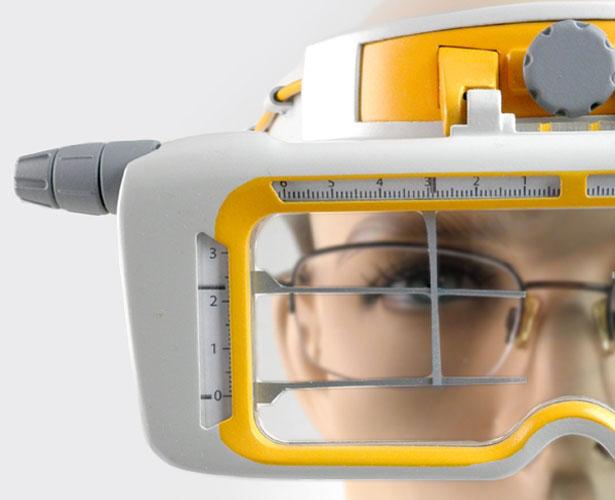 دستگاه تشخیص میزان ضعیفی چشم