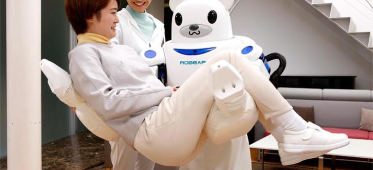 پرستار آیندهی ژاپنیها ربات خرس عروسکی