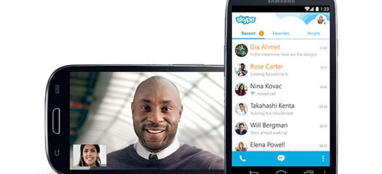 اندرویدی ها تاکنون بیش از 500 میلیون بار اسکایپ را دانلود کردهاند