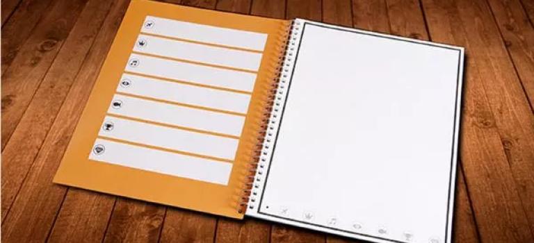ساخت نوعی دفترچه کاغذی که محتویاتش در کلاود آپلود می شوند