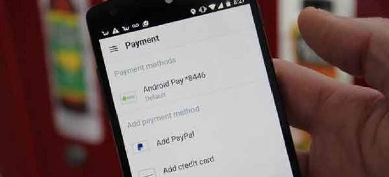 با Android Pay گوگل حتی لازم نیست برای پرداخت، گوشی را از جیبتان دربیاورید!