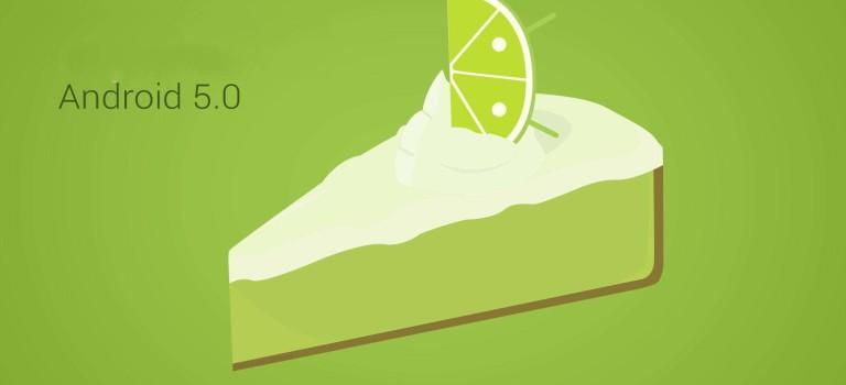 گوگل اعلام کرد : اندروید ۵.۰ پس از ۸ ماه بر روی ۹.۷ درصد از محصولات اندرویدی قرار دارد