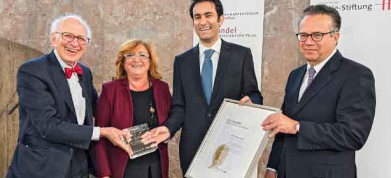 فیزیکدان جوان ایرانی برنده جایزه اریک کندل اروپا شد