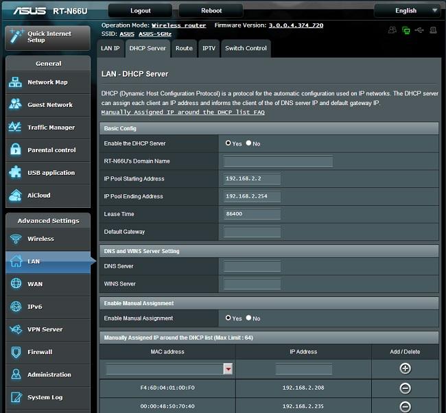dhcp server 100056864 orig