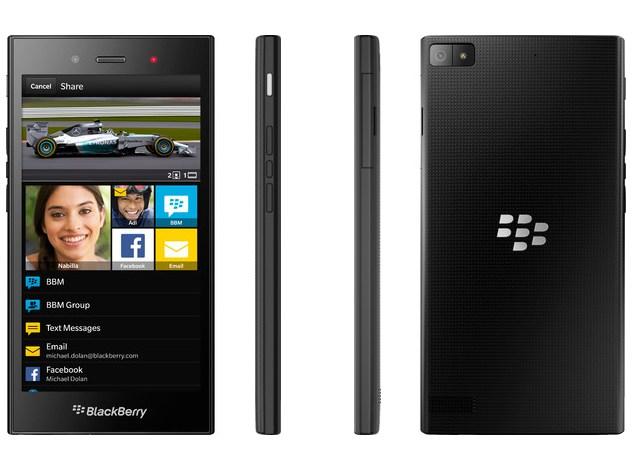 blackberry z3 india launch