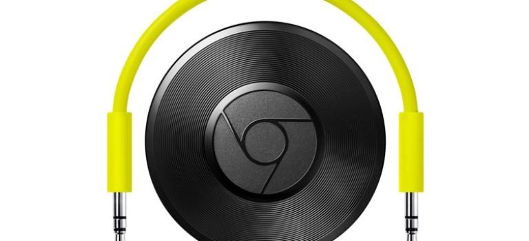 گوگل از کرومکست آئودیو با امکان پخش بیسیم محتوای صوتی رونمایی کرد