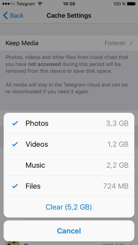 cache-clear-telegram-new-update-bazdidfa-app