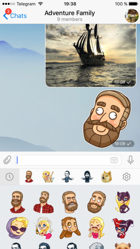 sticker-pack-reordering-in-new-update-of-telegram
