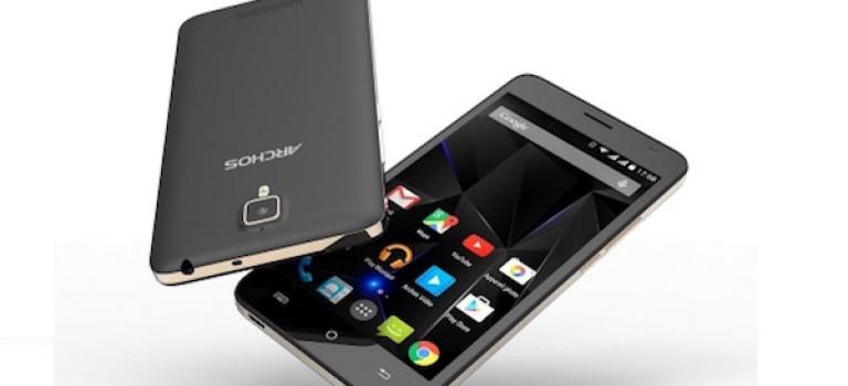 آرکاس و معرفی موبایل ۱۳۰ دلاری 50d از سری Oxygen