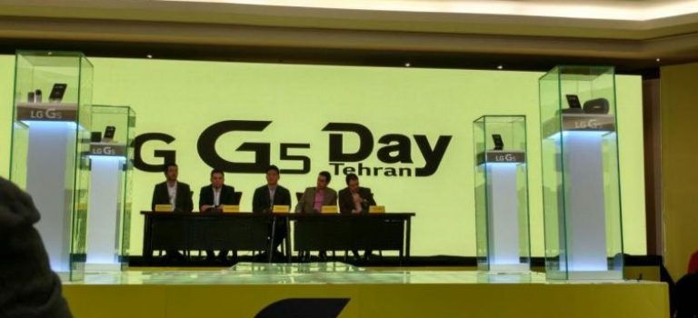 الجی G5 در ایران رونمایی شد
