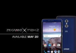 ZTE گوشی Grand X Max 2 را معرفی کرد؛ دوربین دوگانه و نمایشگر ۶ اینچی