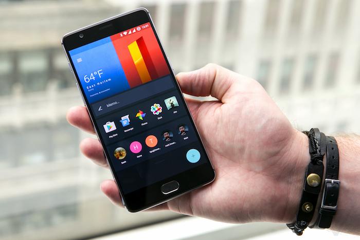 One Plus 3 smartphone