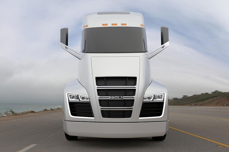 nikola-one-class-8-truck-front-view
