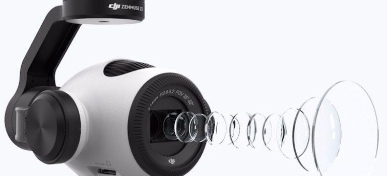 کمپانی دی جی آی از اولین دوربین خود با زوم اپتیکال برای پهپادها پرده برداشت