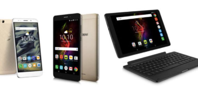 آلکاتل از تبلت های POP 4 و موبایل هوشمند XL رونمایی کرد