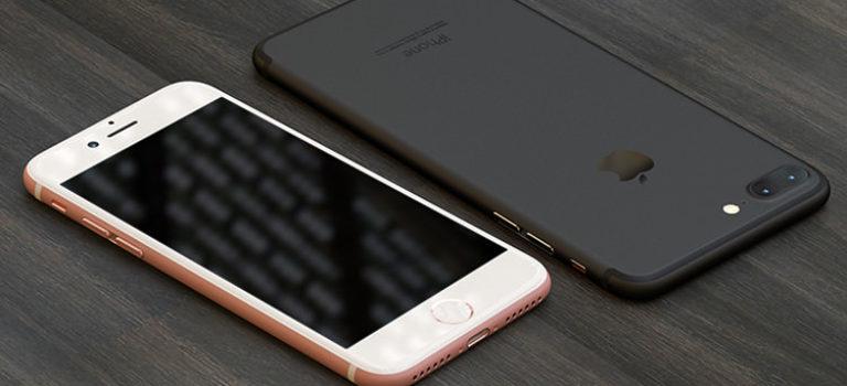 آیفون 7 اپل به جای خاکستری با رنگ مشکی براق عرضه میشود