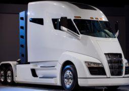 کامیون الکتریکی با پیل سوختی هیدروژنی نیکولا با شعاع حرکتی بیشتر
