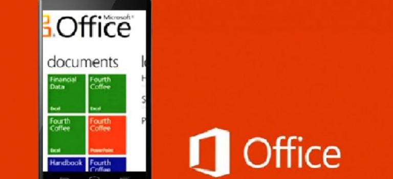 اتصال Office مایکروسافت در دستگاههای موبایلی به فضای ابری