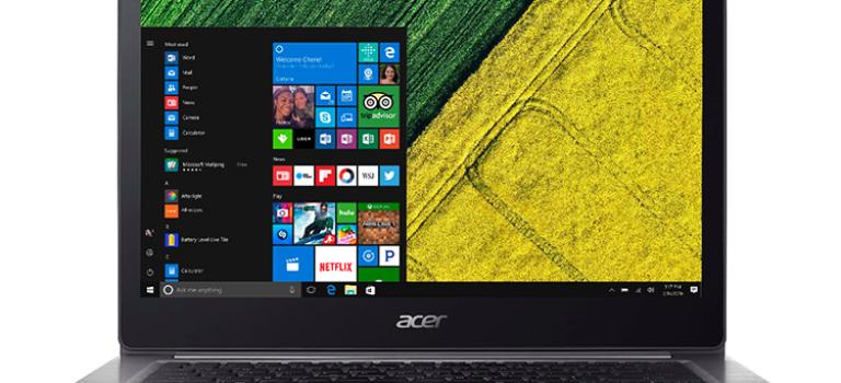 ایسر از سری جدید لپ تاپ های Aspire و Swift رونمایی کرد