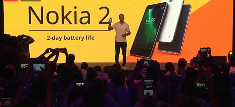 نوکیا 2 معرفی شد؛ نمایشگر 5 اینچی اچ دی و تراشه اسنپدراگون 212