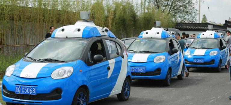 اتومبیل های خودران به صورت آزمایشی وارد خیابان های چین میشوند