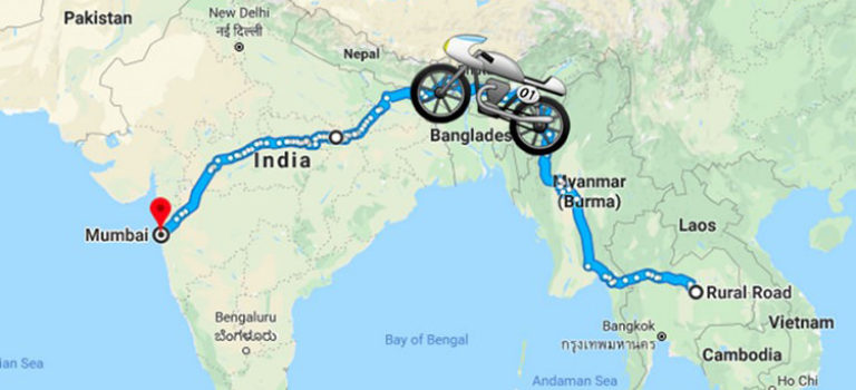 عرضه جهانی سرویس گوگل مپ برای موتورسیکلت و دوچرخه